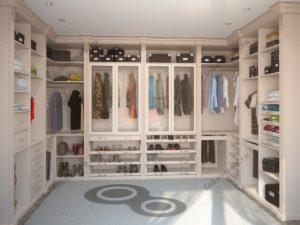 гардеробные шкафы купе на заказ